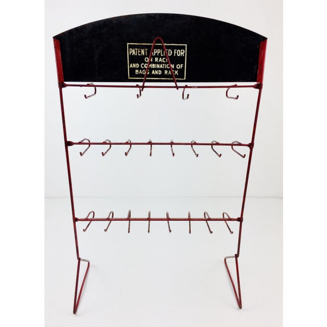 Vintage Queen Anne Better Nut Confections Display Rack - Image 6 of 8