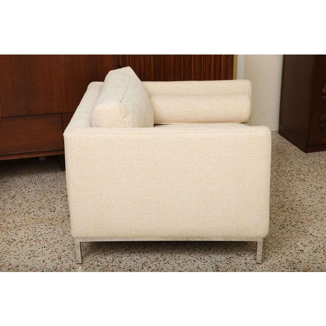 Mid-Century Modern Modern Plush Armchair by ICF 1960s For Sale - Image 3 of 9