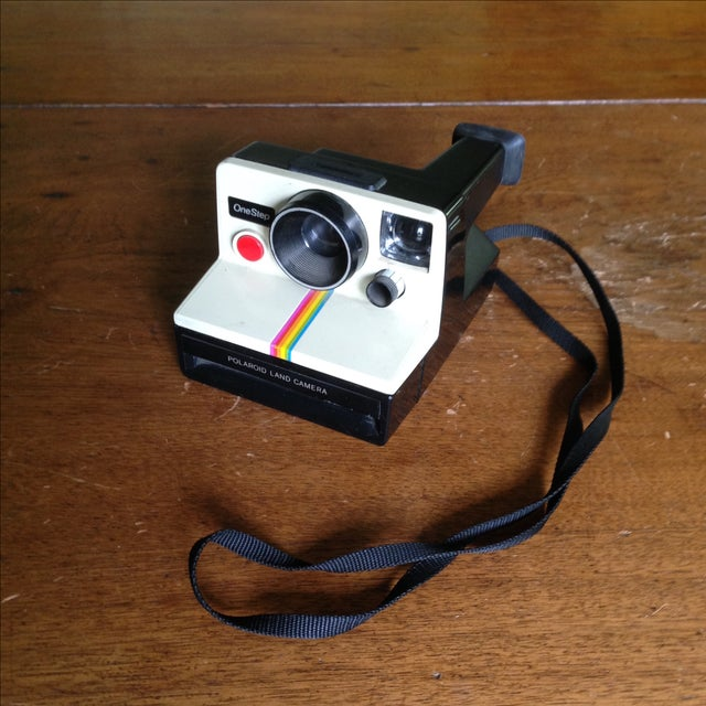 Vintage Polaroid One Step Land Camera For Sale In Indianapolis - Image 6 of 11