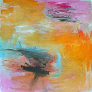 """Mirage"" by Trixie Pitts Abstract Expressionist Oil Painting For Sale"