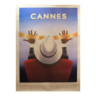 2004 Original French Movie Poster, Cannes Film Festival For Sale