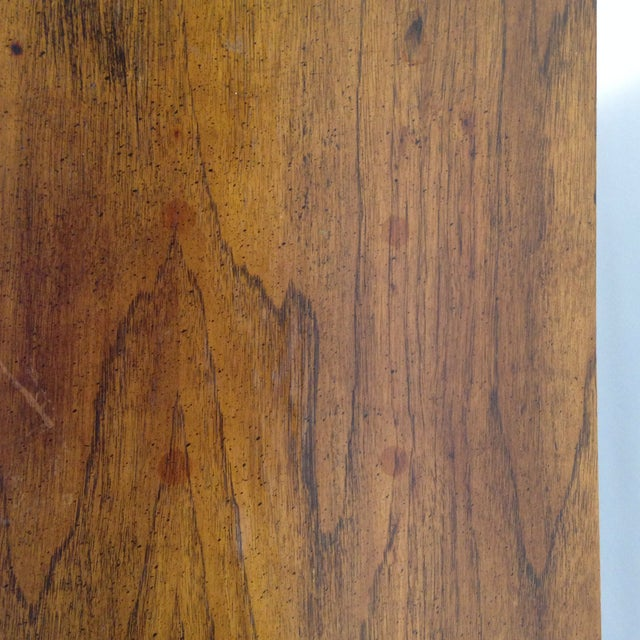 Faux Bamboo End Tables - A Pair For Sale - Image 4 of 7