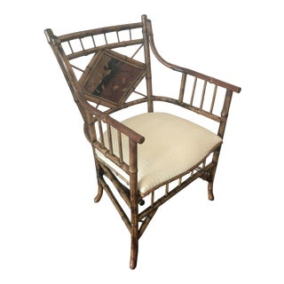 Mid 19th Century English Bamboo Chair For Sale