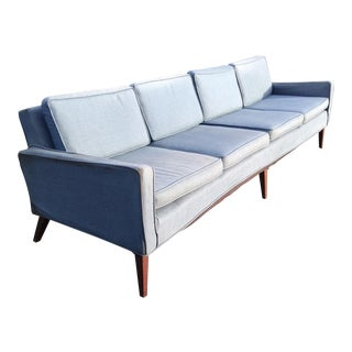 Mid Century Vintage Sofa in the Style of McCobb For Sale