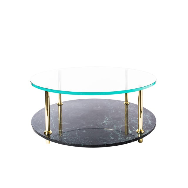 Mgb Round Coffee Table by Artist Troy Smith - Contemporary Design - Artist Proof - Custom Furniture For Sale In Chicago - Image 6 of 7