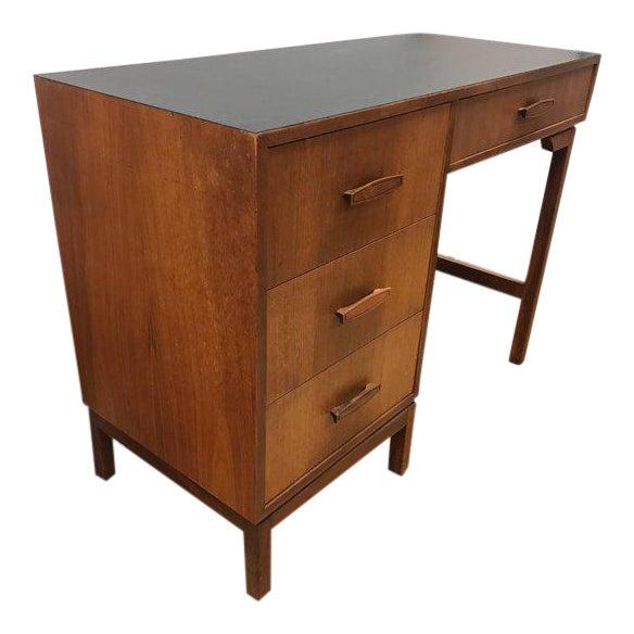 Mid-Century Modern Danish Walnut Writing Desk For Sale