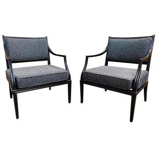 Edward Wormley for Dunbar Armchairs- A Pair For Sale