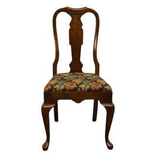 Pennsylvania House Solid Cherry Traditional Queen Anne Side Chair For Sale