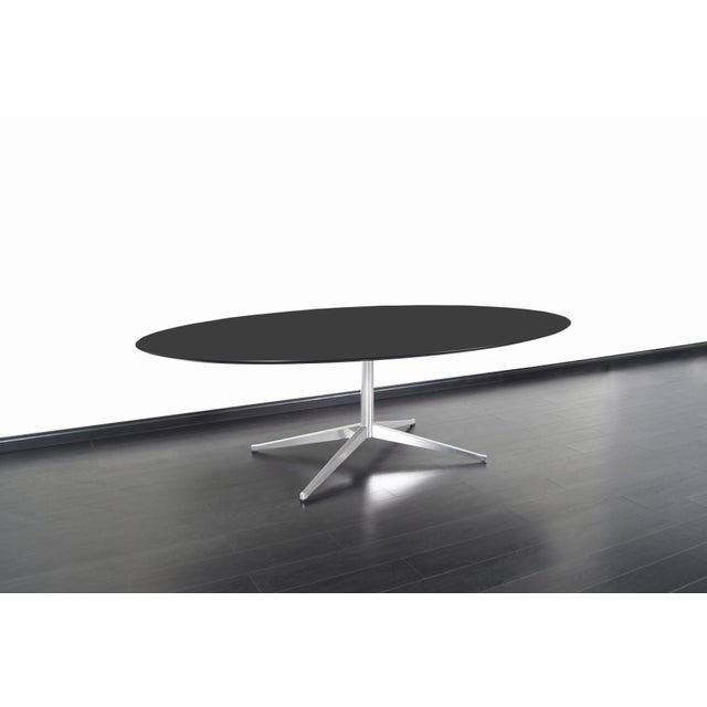 Mid-Century Modern Vintage Executive Desk or Dining Table by Florence Knoll For Sale - Image 3 of 12