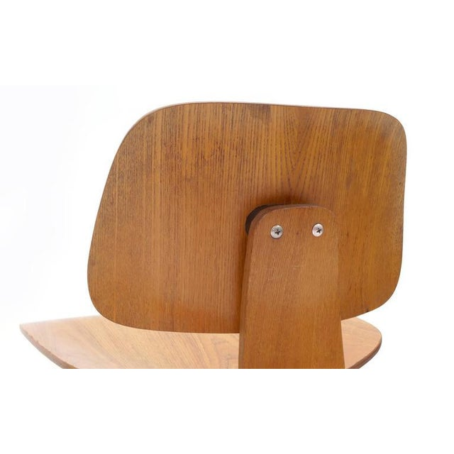 Set of Four Vintage Eames DCWS Add Our Red Eames Dining Chairs to Make Six For Sale In Kansas City - Image 6 of 10