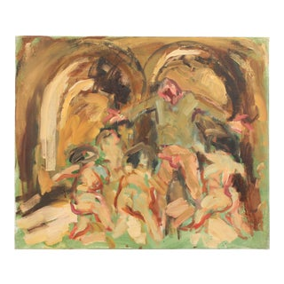 Orestes Tormented by the Furies by Mogens Hoff For Sale