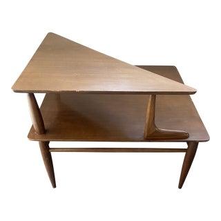 Mersman Mid-Century Modern 2 Tier Corner Table 8083 For Sale