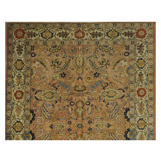 Islamic Antique Persian Tabriz Rug - 6'4'' x 9' For Sale - Image 3 of 4