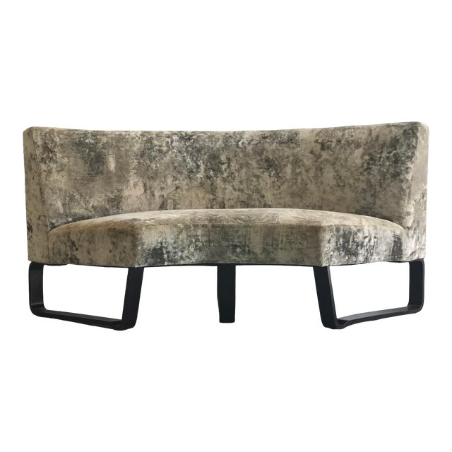 Edward Wormley for Dunbar Curved Settee For Sale