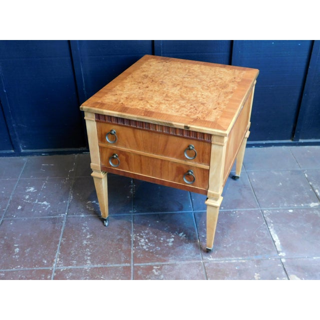 Traditional 1960s Traditional Accent Table For Sale - Image 3 of 12