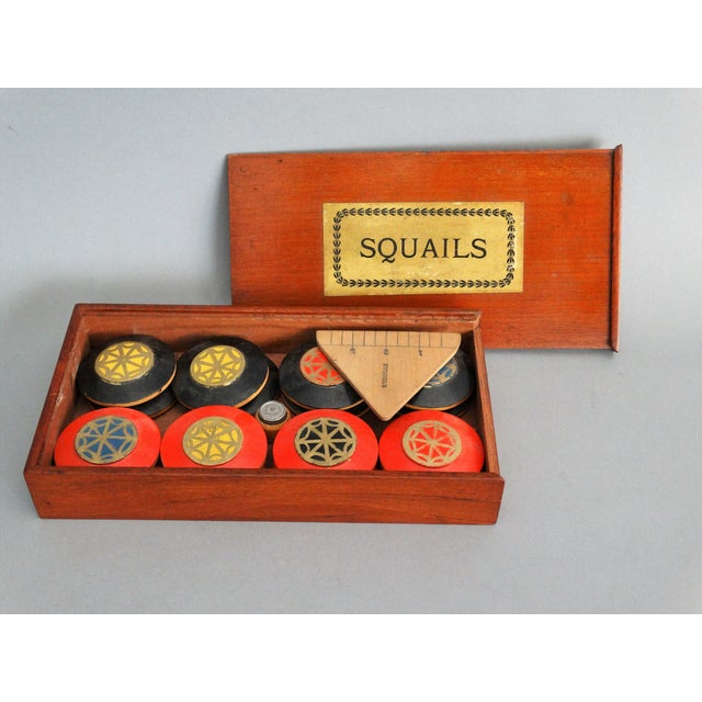 English Traditional 19th-Century English Squails Game, Rare For Sale - Image 3 of 10