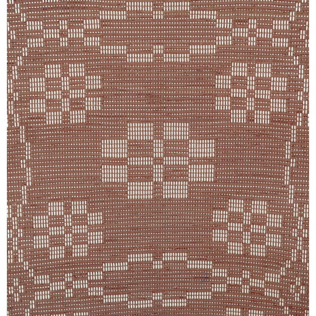 "Handwoven Reversible Vintage Swedish Rug by Scandinavian Made 85"" x 27"" For Sale - Image 4 of 9"