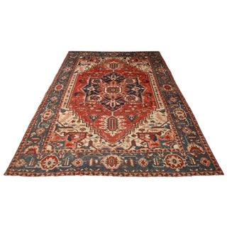 RugsinDallas Persian Serapi Rug - 12′ × 15′ For Sale