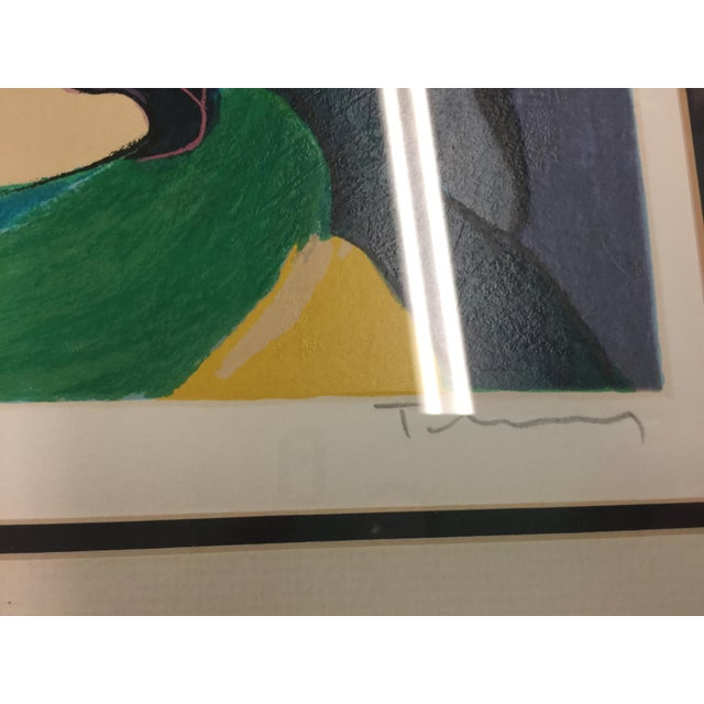 1980s Itzchac Tarkay Lithograph Signed Artist Proof For Sale - Image 5 of 7