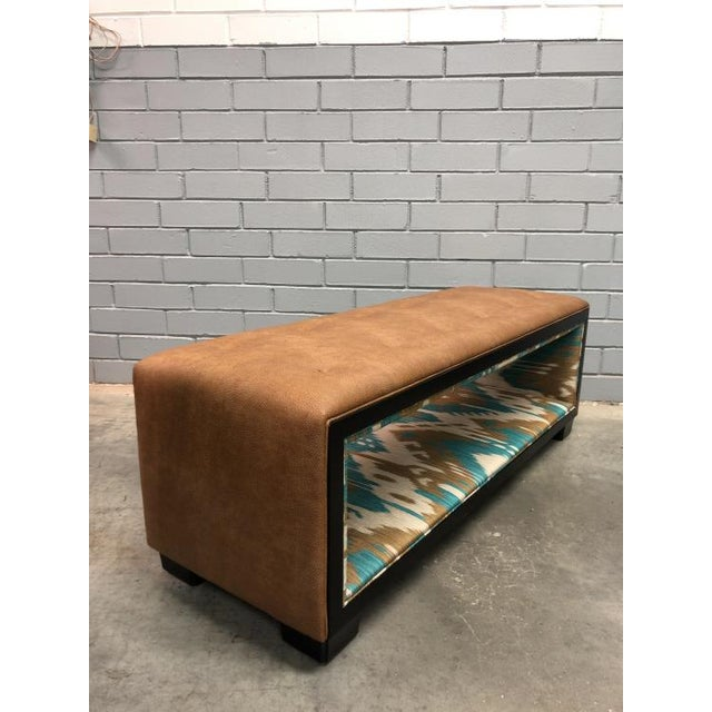 Transitional Thomas O'Brien Margaux for Century Furniture Bench For Sale - Image 3 of 4