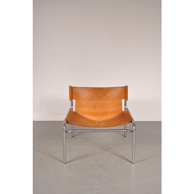 """Lounge Chair """"sz12"""" by Walter Antonis for Spectrum, Netherlands, circa 1970 - Image 7 of 9"""