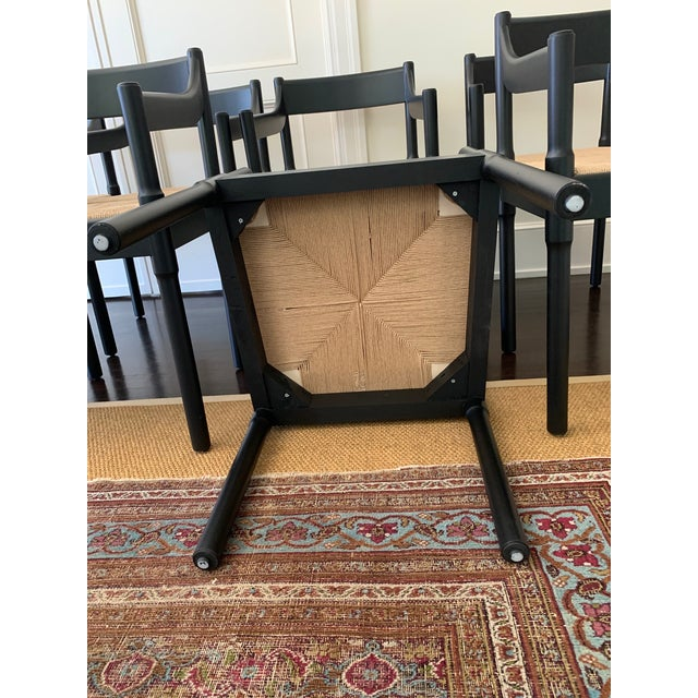 Custom Made 'Charlotte Perriand' Style Chairs - Set of 8 For Sale In Los Angeles - Image 6 of 7