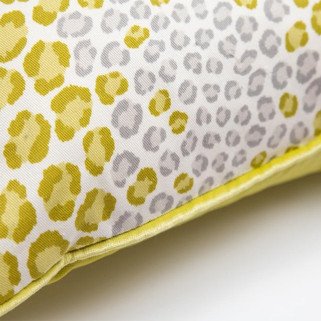 Bright and Wild Animal Print Pillow For Sale - Image 4 of 6