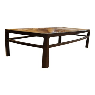1960s Mid-Century Modern Wormley for Dunbar Rare Mahogany Rectangular Coffee Table For Sale