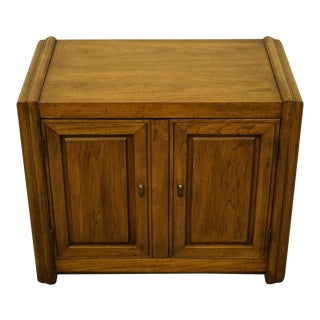 Vintage Thomasville Furniture Commentary Collection Nightstand For Sale