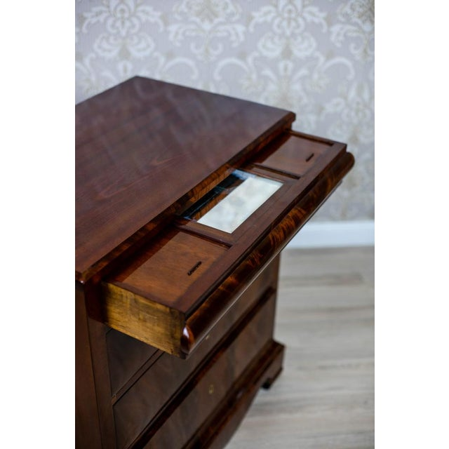 1860s Biedermeier Dresser-Vanity Table For Sale - Image 6 of 13