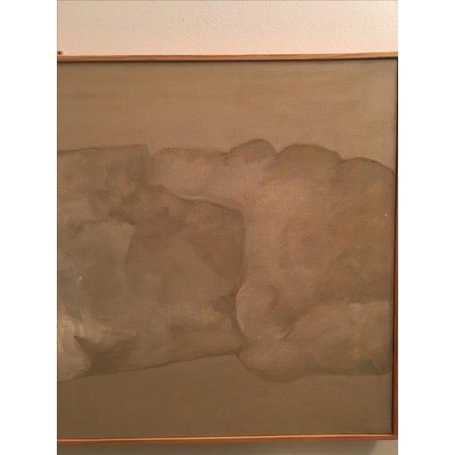 Ralph Dubin Original Oil Painting - Image 4 of 6