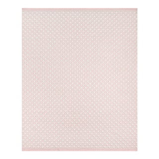 "Erin Gates by Momeni Langdon Windsor Pink Hand Woven Wool Area Rug - 3'9"" X 5'9"" For Sale"
