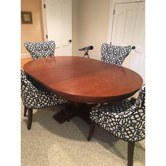 Restoration Hardware Round Dining Table - Image 5 of 10