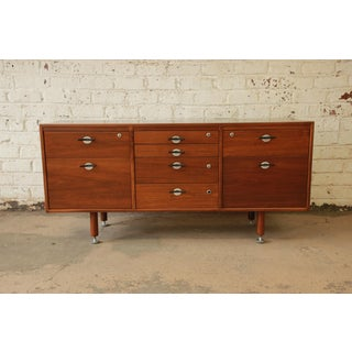 Jens Risom Walnut Credenza With Y Pulls Preview