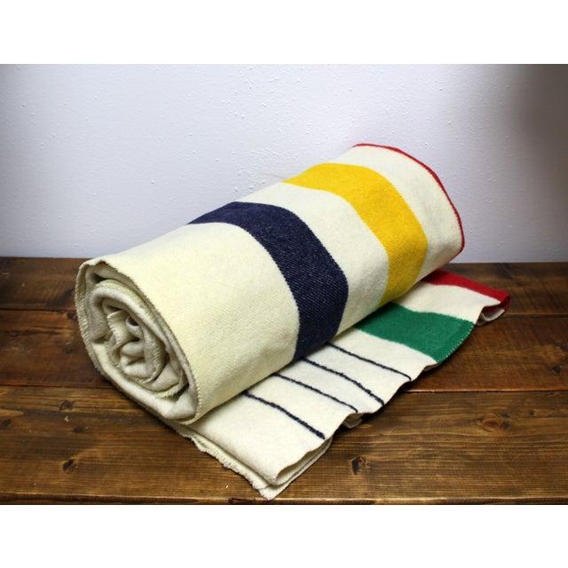 Authentic Hudson Bay 4 Point Vintage Blanket - Image 2 of 6