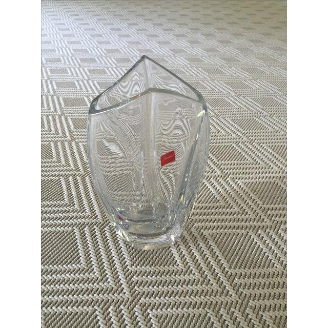 Baccarat Crystal Medium Giverny Vase - Image 2 of 3