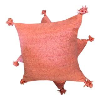 Pink Pillows - a Pair