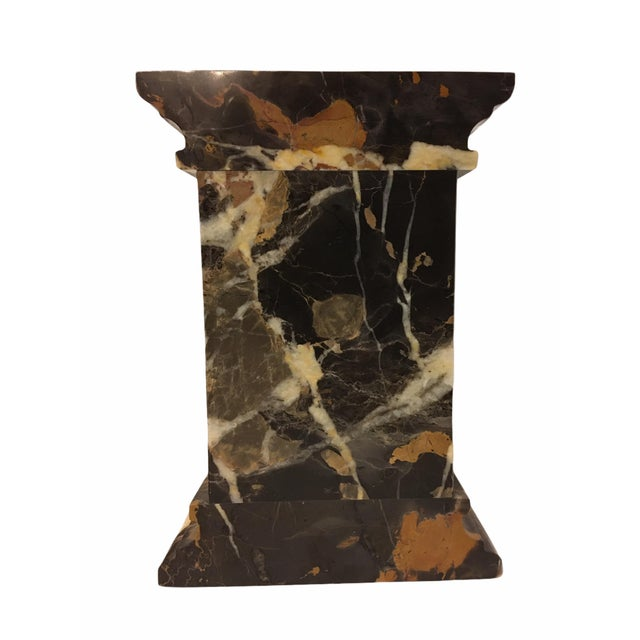 Stone Vintage Neoclassical Marble Bookends - a Pair For Sale - Image 7 of 9