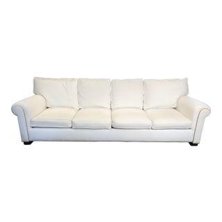 Ralph Lauren White Salon Sofa