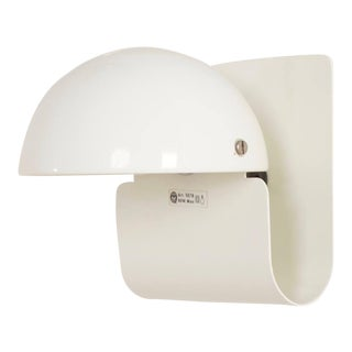 Guiseppe Cormio for Guzzini White Mushroom Wall Sconce