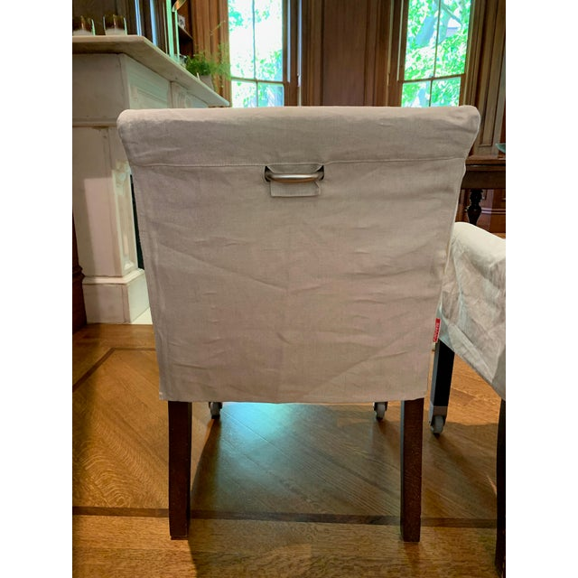 Flexform Flexform Pausa Chairs- Set of 4 For Sale - Image 4 of 8