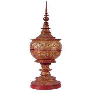 Thai Buddhist Offering Box