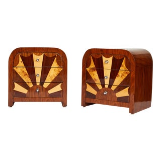 Pair of Midcentury Italian Side Tables For Sale