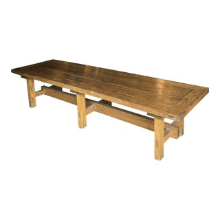 Mission Wooden Bench