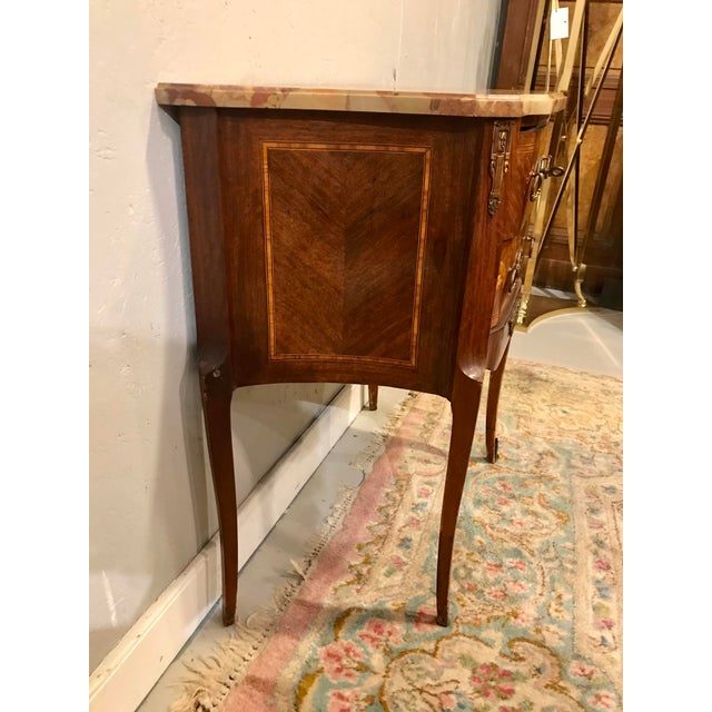 French Louis XVI Style Side Table For Sale - Image 3 of 8