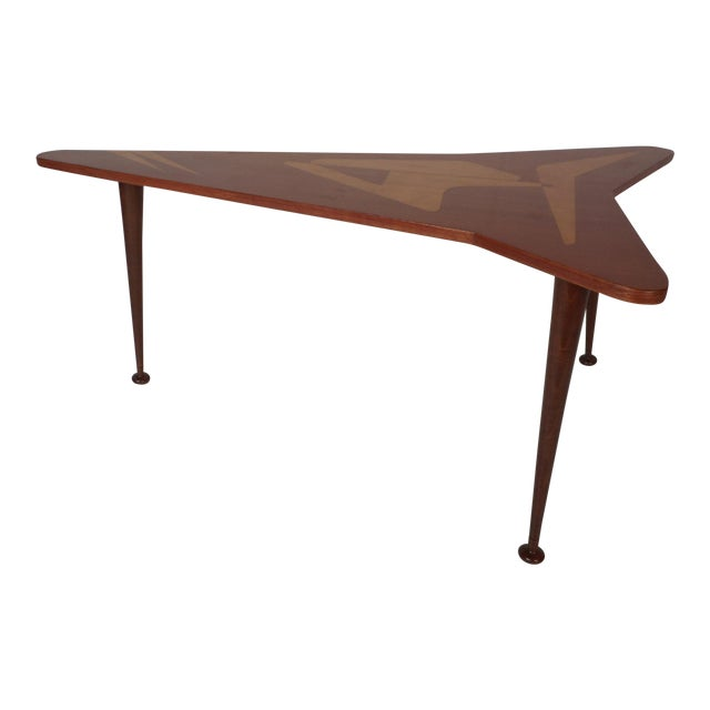Beautiful Contemporary Modern Boomerang Coffee Table For Sale