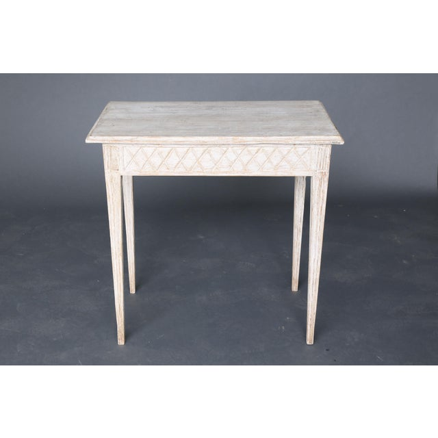 19th Century Swedish Painted Table - Image 2 of 8