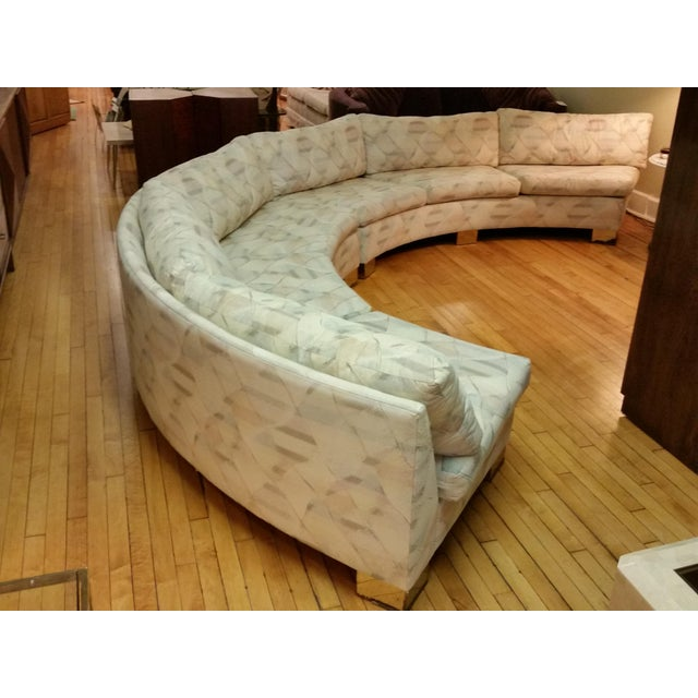 Here's a fabulous custom dated 1989 Thayer Coggin sectional that was created for an interior designer in Albany, New York...