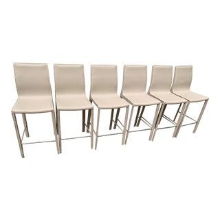 Modern Interlude Home Brand Barstools- Set of 6 For Sale
