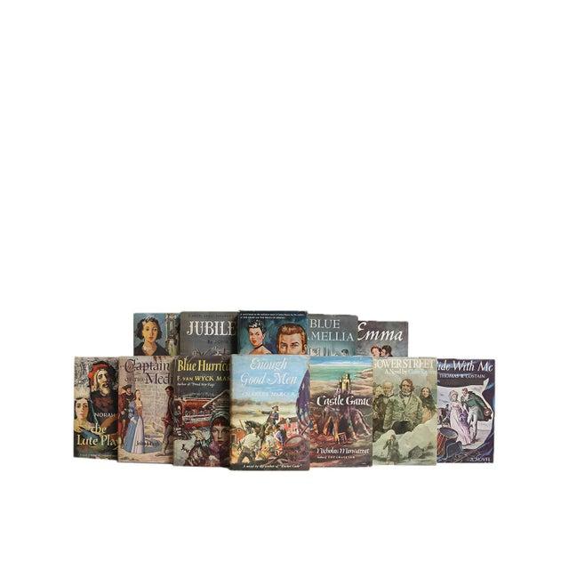 Midcentury Novels in Dustjacket - Twenty Decorative Books. Twenty midcentury era books featuring an unique collection of...